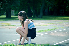 explored. (raychel sonveeco.) Tags: summer hot girl outside young sunny teenager tenniscourt 55200mm nikond60