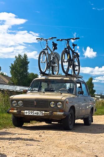 велосипеды на багажнике