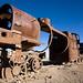 trains cementery - Uyuni, Bolivia