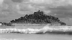 10573 Stormy weather in Mount's Bay, Cornwall, UK (benjamin volant) Tags: uk sea england sky blackandwhite bw white seascape storm black southwest heritage monochrome weather clouds spectacular landscape island photography coast blackwhite seaside scenery cornwall waves skies moody photographer britishisles wind cloudy britain ominous menacing scenic wave windy stormy landmark gale photographs photograph touristy coastline british benjamin rough popular nationaltrust looming touristattraction stmichaelsmount seaspray cornish westcountry marazion saintmichaelsmount volant penwith mountsbay benjaminvolant benjamin volant