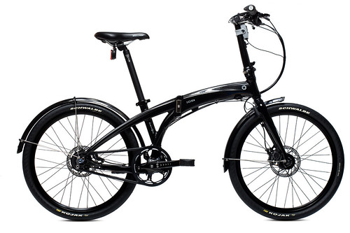 DAHON IOS XL unfolded