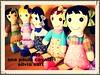 lindinhas conversando... hora do café!!! (AP.CAVALARI / ANA PAULA) Tags: toy dolls handmade fabric boneca tecido feitoamão fabricdolls bonecadetecido anapaulacavalari apcavalari