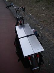 Ciclo-bancada móvel DIY