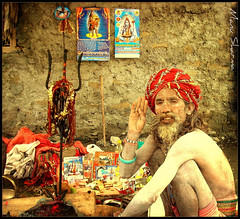 SADHU (manumint-[BUSY]) Tags: india mountains religious yogi meditation shiva hinduism kailash sadhu ascetic babaji holiness moksha chanting omnamahshivaya manimahesh himachalpardesh devbhumi wanderingmonks manimaheshlake