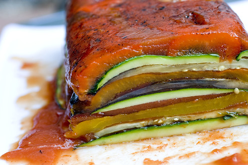 Colorful Vegetable Terrine loaf