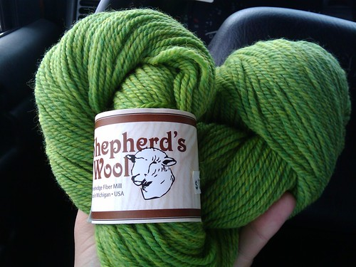 Shepherd's Wool - Lime