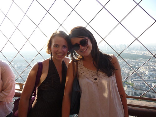 Eiffel Tower View- Jorden and I