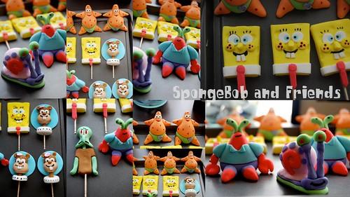 spongebob figurine
