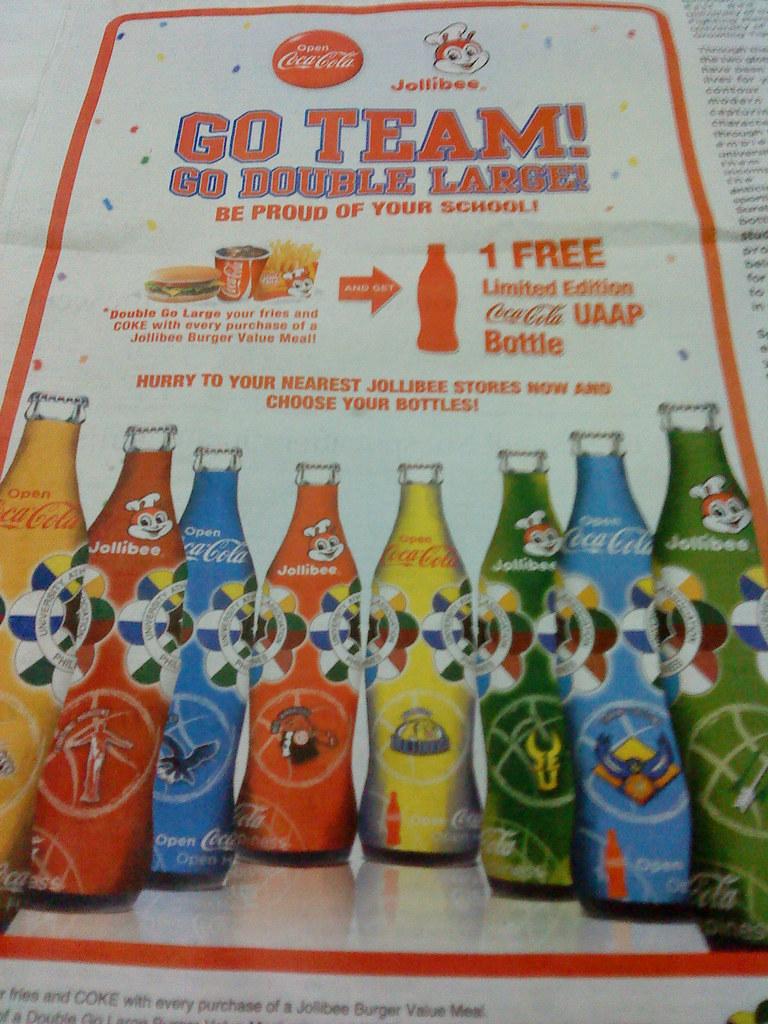 Limited Ed. Coca-Cola Bottles
