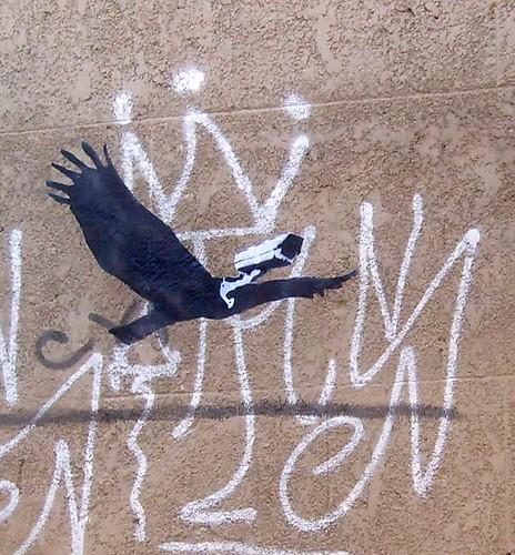 camera bird stencil