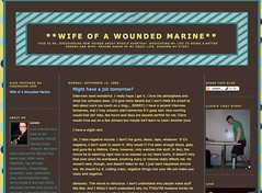 Wife of a Wounded Marine