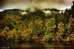 Autumn Mists (Shuggie!!) Tags: mist water landscape scotland williams karl loch trossachs hdr katrine aberfoyle karlwilliams