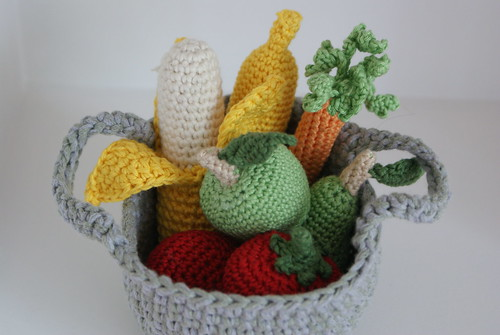 Crochet fruit & veg