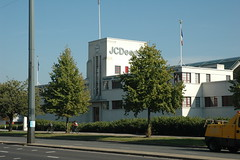 Currys Factory TW7 (Jamie Barras) Tags: uk england building london architecture century thirties 1930s factory artdeco 20th brentford jcdecaux ロンドン 伦敦