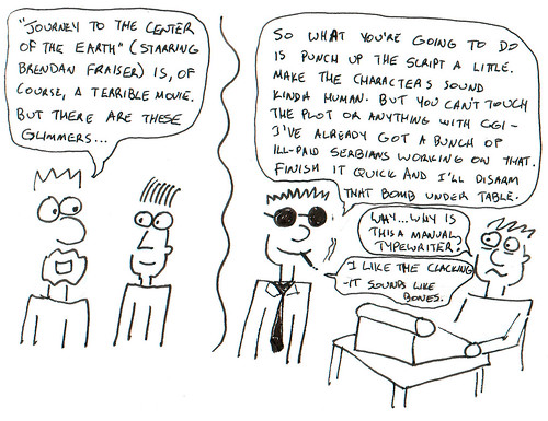 366 Cartoons - 238 - Journey to the Center of the Earth