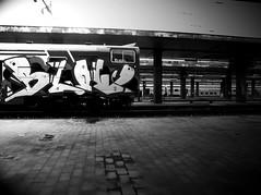 (Sm) Tags: italy milan station train graffiti italia milano