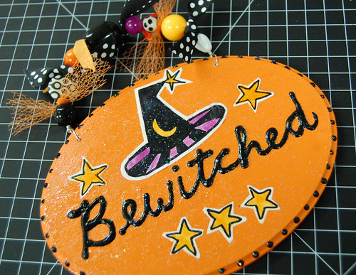 bewitched plaque
