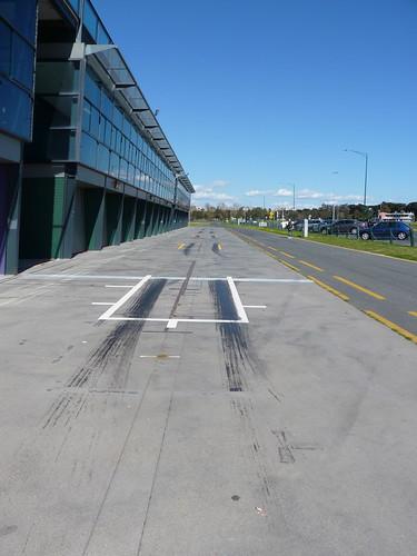 F1 pit lanes, Albert Park Lake