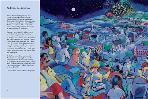 4002730953 4fe3d46f1a Review of the Day: If America Were a Village by David J. Smith