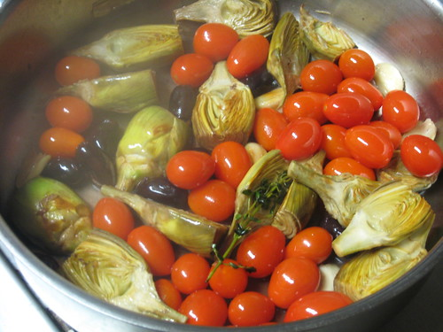 Provencal Style Baby Artichokes