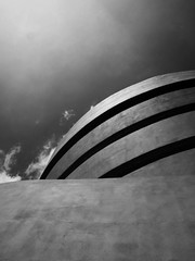 SGM BW (mikeyexists) Tags: nyc vacation urban bw newyork museum architecture photography photo picture newengland franklloydwright photograph guggenheim guggenheimmuseum photograpgh