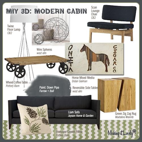 MiY 3d: Modern Cabin