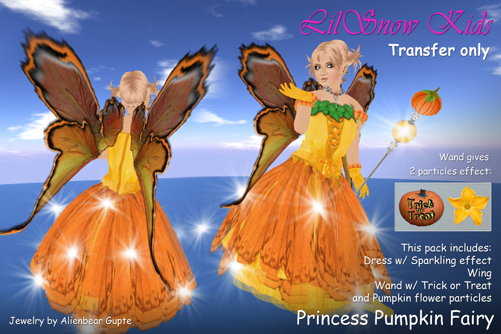 LSkids Princess Pumpkin Fairy
