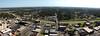 Bird's Eye View (NBJones) Tags: bridge tower skyline skyscraper downtown cityscape littlerock pano horizon overpass panoramic freeway photomerge arkansas interstate pulaskicounty metropolitannationalbanktower tcbytower metropolitannationalbank mounthollycemetery i630