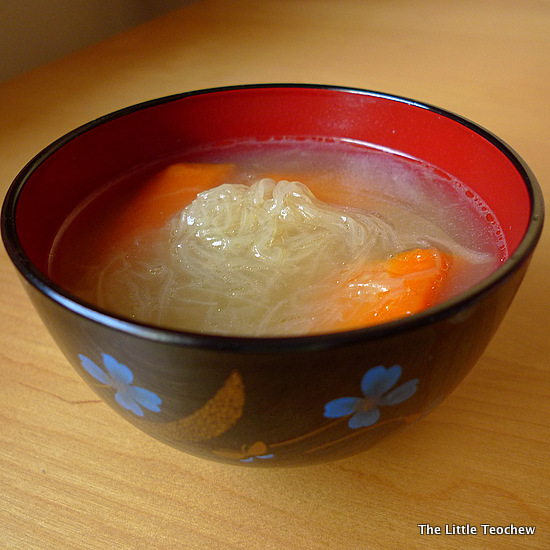 Sharksfin melon soup 1