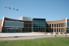 The main entrance to Medicine Hat College (Medicine Hat College) Tags: college hat campus medicine medicinehatcollege