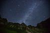 Japan Alps Milky Way Meteor (masahiro miyasaka) Tags: alps japan night stars fisheye astrophotography alpen meteor milkyway cassiopeia iya2009