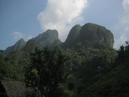 En route to Vang Vieng