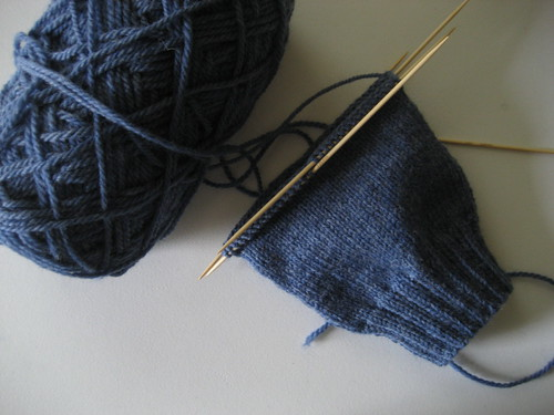 more sock knitting.