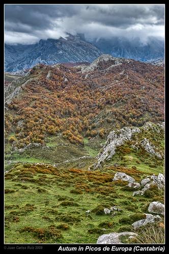 Autumn in Picos de Europa (Cantabria, Spain) by Juan C Ruiz