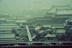 snow over forbidden city (ShanLuPhoto) Tags: winter snow beijing forbiddencity   loolooimage