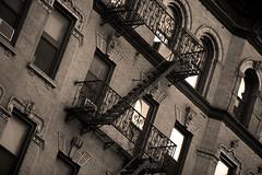 fire escape (Lsuza) Tags: newyorkcity urban manhattan bricks fireescape buiding