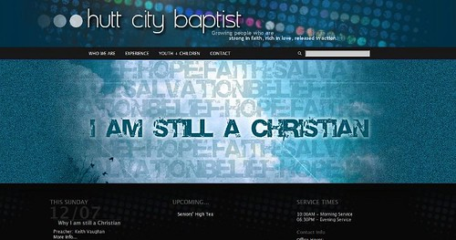 HuttBaptist.org.nz // WordPress