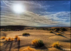 Whisper of the wind! (M@@n) Tags: sunset sun sahara whisper shadows desert iran wind pentax  hdr highdynamicrange isfahan   mesr  k100d specialtouch jandagh   saariysqualitypictures pentaxart