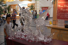 Ice Sculptures at Lahaina Cannery Mall