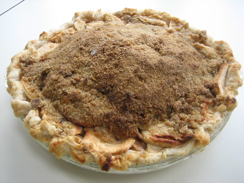 Homemade French Apple Pie