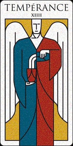 Tarot - XIV Templanza