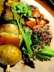 Mesquite grilled brochette