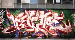 Sustain Wall (RABBIT EYE MOVEMENT) Tags: street london art graffiti spam does loveletters probs biser nychos aryz