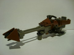 19_ Speederbike (Alexander's Lego Gallery) Tags: light storm trooper bike rebel star ship desert lego space luke battle walker solo darth empire saber jedi stormtrooper anakin spaceship lightsaber wars vader vulture clone pilot sith han droid speeder chewbacca leia blaster skywalker rebels galactic organa speederbike