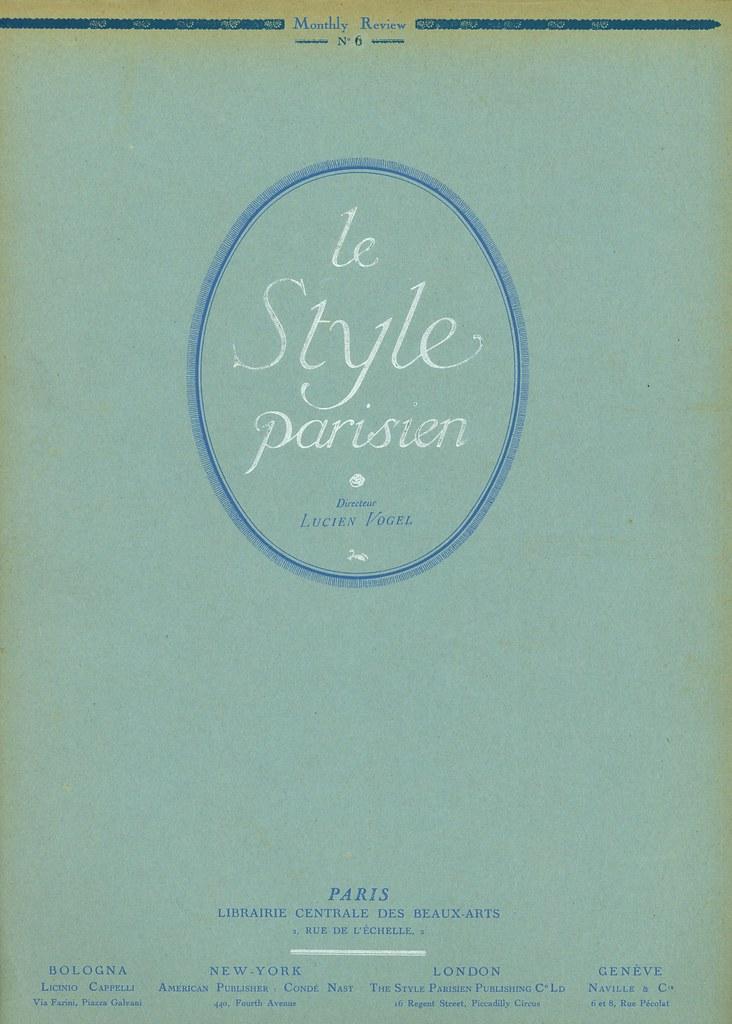 Le Style Parisien (front cover)