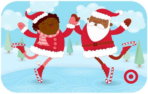 Skatin' Santa