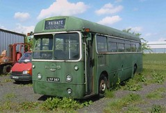 LT RF36 LYF387 HADDENHAM 150503 (David Beardmore) Tags: rf parkroyal londontransport aec regal4 nonpsv trafficresearchunit lyf387