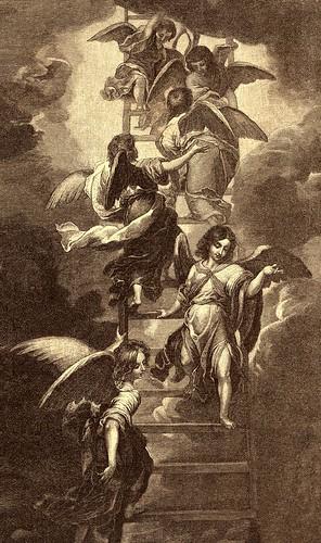 Angels on Jacob's Ladder