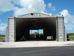 SteelMaster Metal Aircraft Hangar