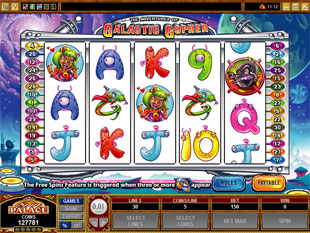 The Adventures of Galactic Gopher slot game online review